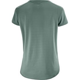 Salomon Comet Breeze T-shirt Femme, balsam green